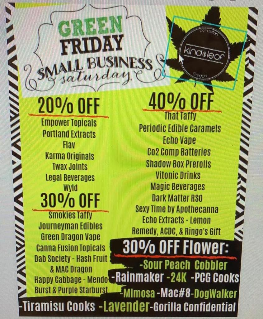Kind Leaf Black Friday Deals