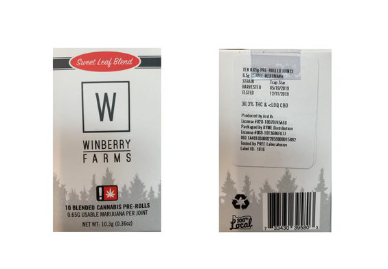 Winberry Farms Recall